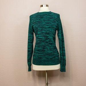 H&M Green/black Pullover Unisex Sweater